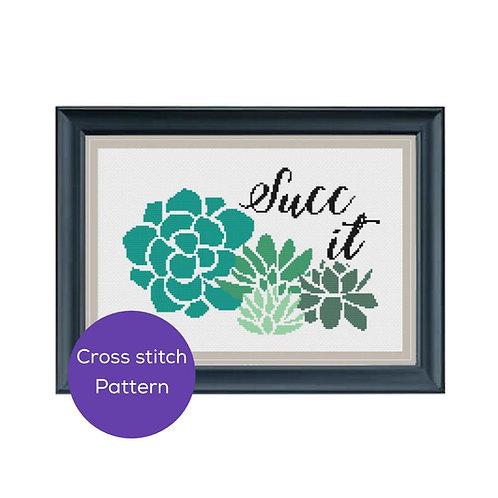 Succ It Cross Stitch Pattern