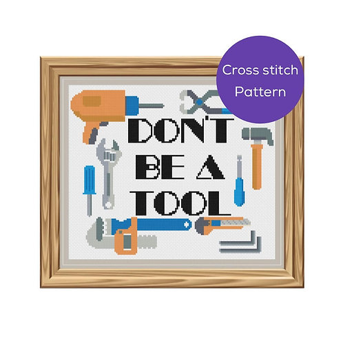 Tool Cross Stitch Pattern