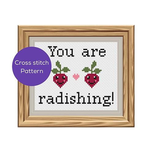 You Are Radishing Cross-Stitch Pattern
