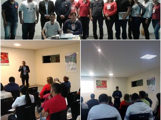 Palestra sobre Gestão de Estoque em Ubajara/CE