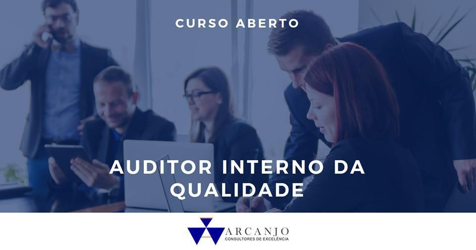 Curso de Auditor Interno da Qualidade ISO 9001:2015 / ISO 19011:2012 - Abr/18