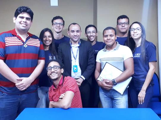 Visita de alunos do PET - Administração da UFRPE