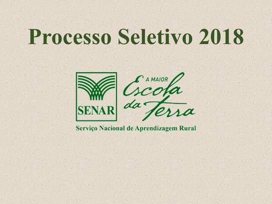 SENAR Pernambuco abre seleção para contratação de profissionais