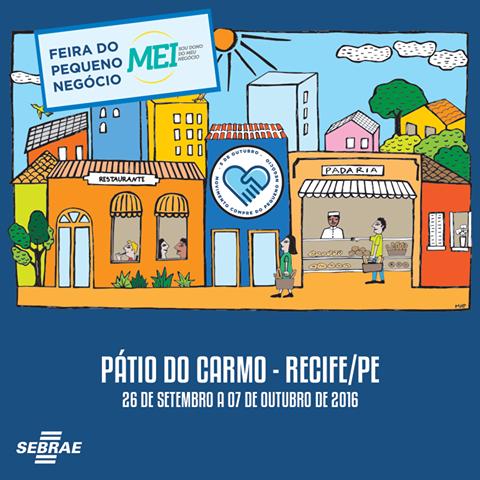 Feira do Pequeno Negócio - Sebrae-PE - de 26/09 a 07/10