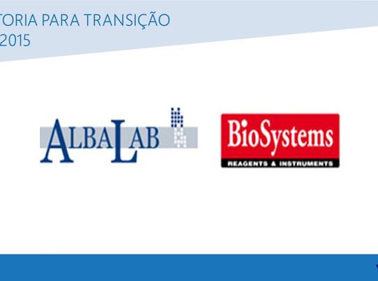 Albalab BioSystems é recertificada na ISO 9001:2015