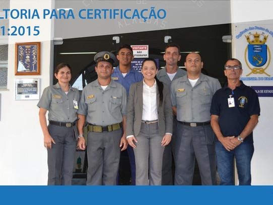 Capitania dos Portos de Alagoas é preparada para obtenção da Certificação ISO 9001:2015