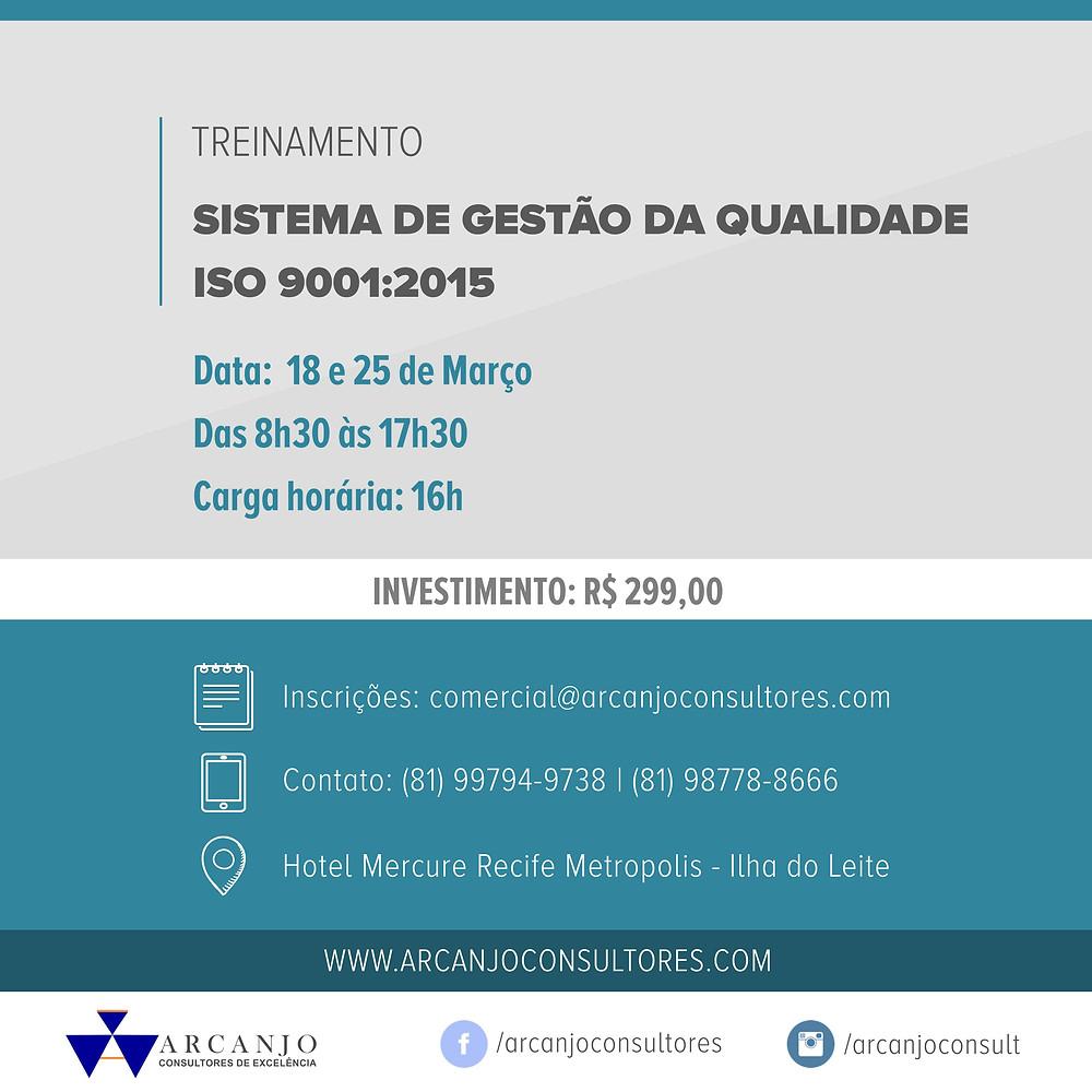Curso de Sistemas de Gestão da Qualidade - Interpretação ISO 9001:2015