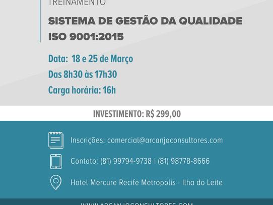 Curso de SGQ - Interpretação ISO 9001:2015