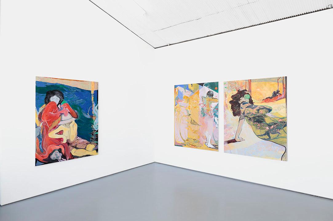 Install, 'Apfelschuss' 2019, Tristian Koenig Gallery