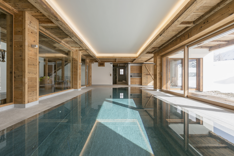pool, sauna, steam and adjacent gym