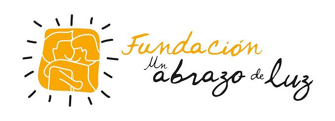 Fundación un Abrazo de Luz logo horizontal
