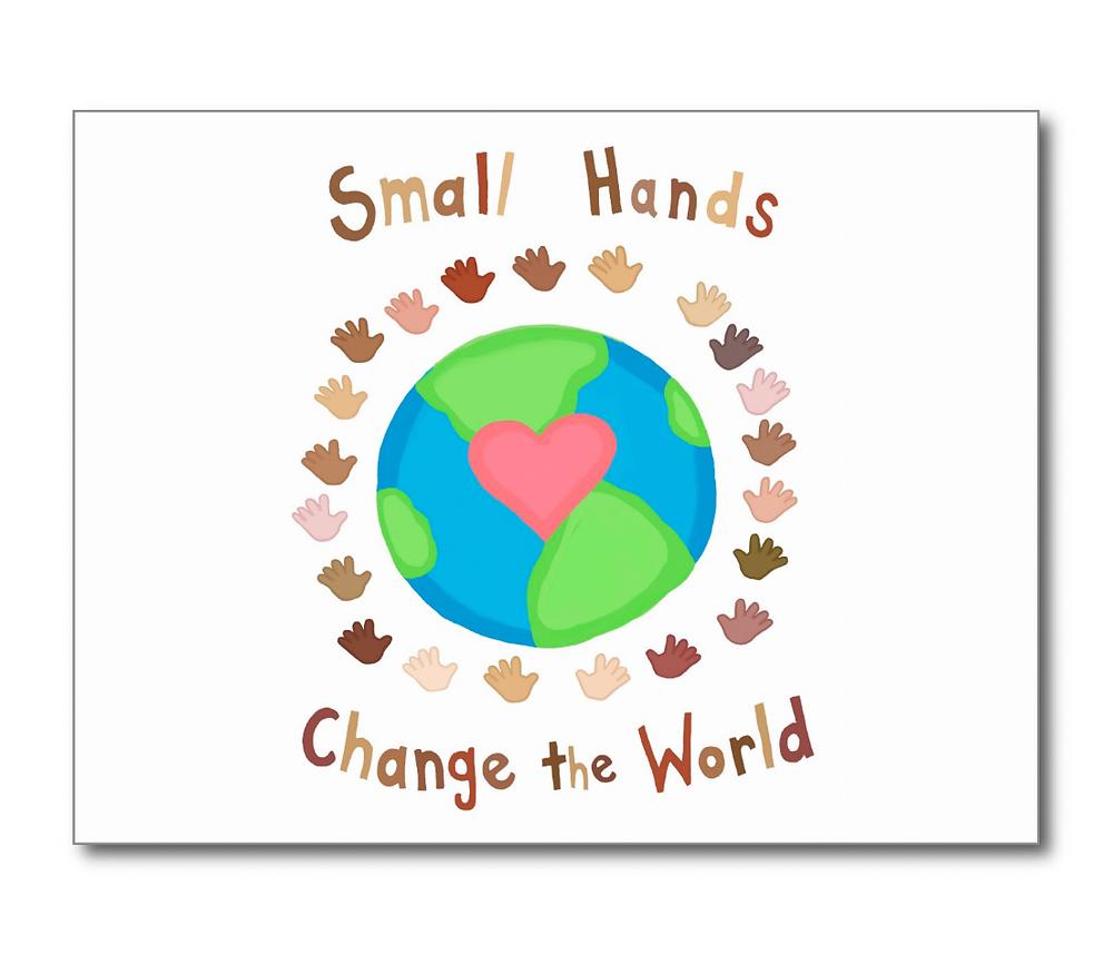 Small hands change the world fundación niños elche