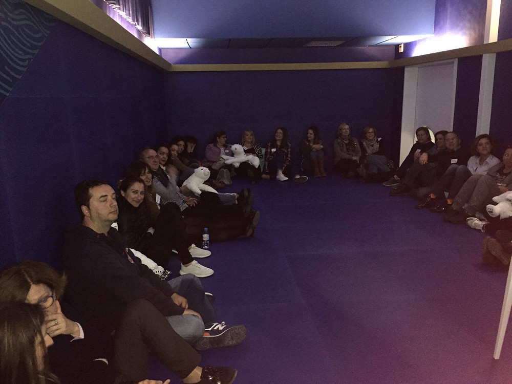 centro reunión unirse participar crecimiento
