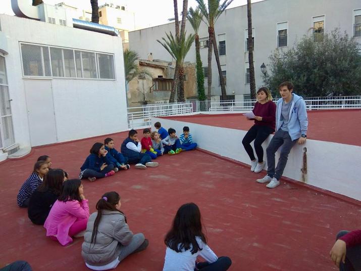 Salva y Susi organizaron un taller de Igualdad