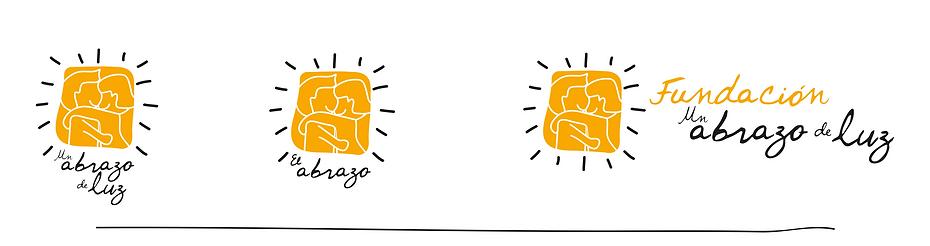 Logos Fundación un Abrazo de Luz descarga