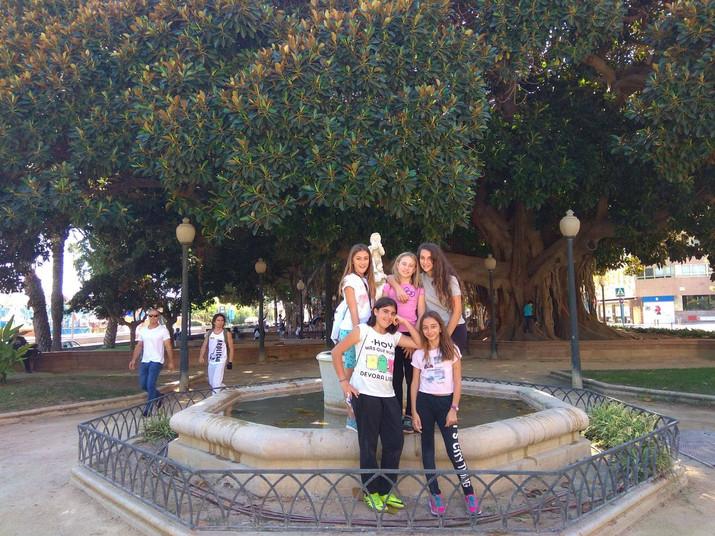 Visita al Parque de Canalejas en Alicante
