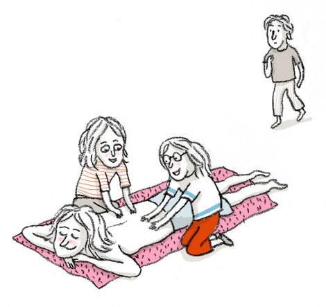 escuchar, hijos, Geraldine Alibeu, prestar atención, carño, padres