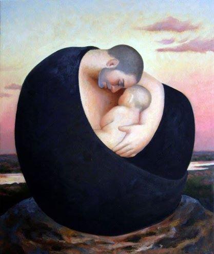el abrazo en elche amor hijo futuro padres aprender convivencia Alberto Soler Sarrió