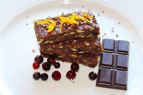 Chocolate Chokecherry Swaami Bars (Vegan & Gluten Free) 3 Bars Per Box