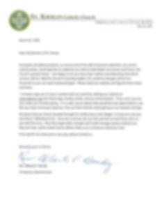 Fr. Bondy letter March 27 2020 letterhea