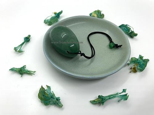 Green Aventurine (Indian Jade) Yoni Egg