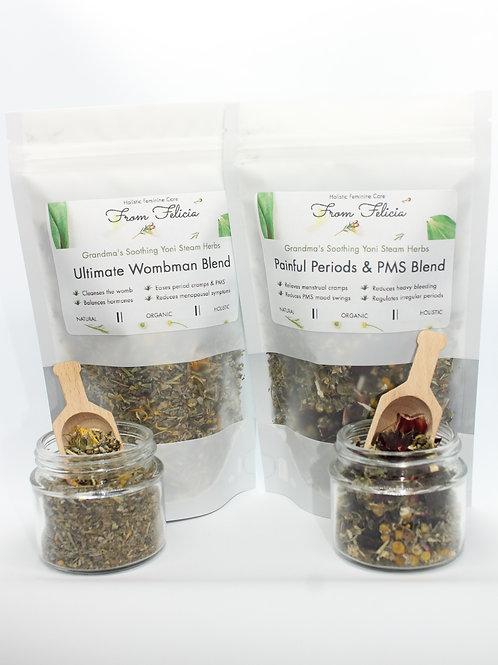 Yoni Steam Herbs: mini size for women's circles, group yoni steams etc.