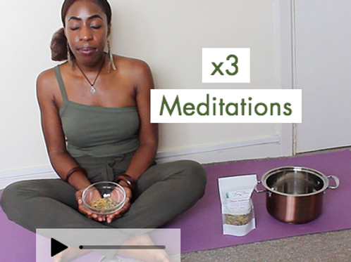 Yoni Steaming Guided Meditation BUNDLE
