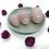 Thumbnail: Rose Quartz Yoni Egg Set (small, medium & large)