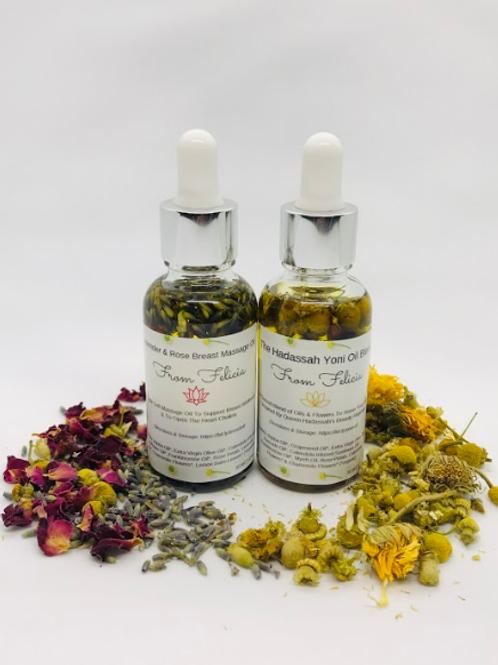 Yoni Oil & Breast Massage Oil Duo