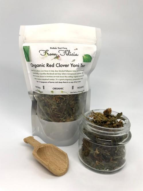Red Clover Yoni Tea- Organic