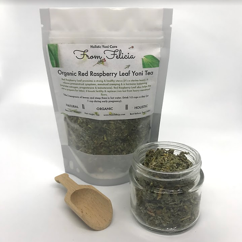 Red Raspberry Leaf Yoni Tea- Organic