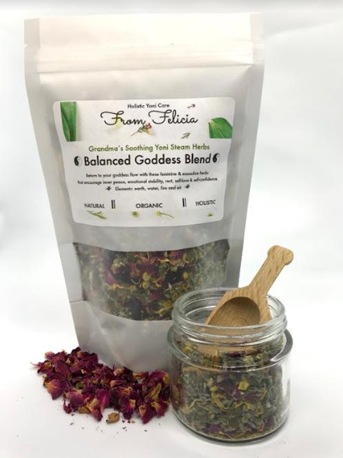 Yoni Steam Herbs: Balanced Goddess Blend