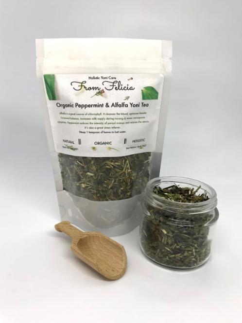 Peppermint & Alfalfa Yoni Tea- Organic