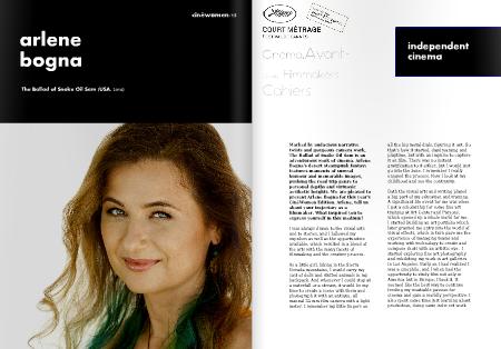 Arlene Bogna Cannes Short Film Corner CineWomen Cahiers