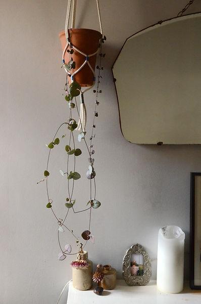 Macrame plant hanger lennie beare ruby squires