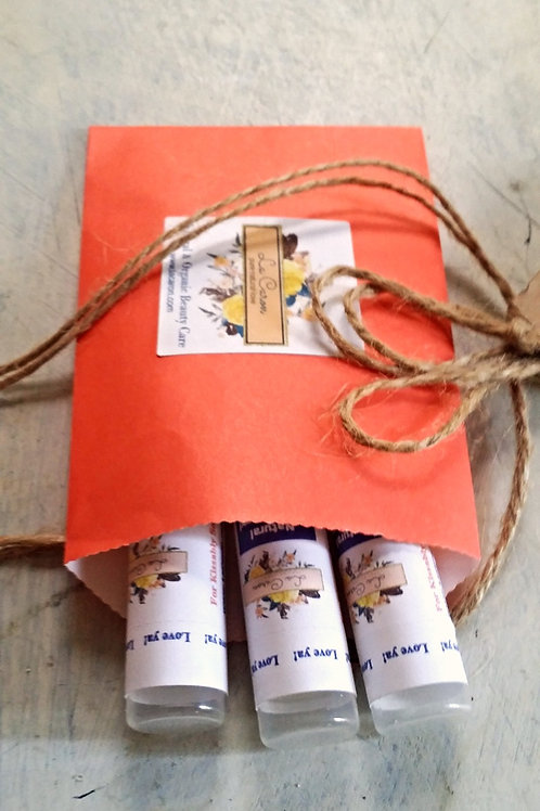 Natural Hand Poured Lip Balm, 9 Flavors!