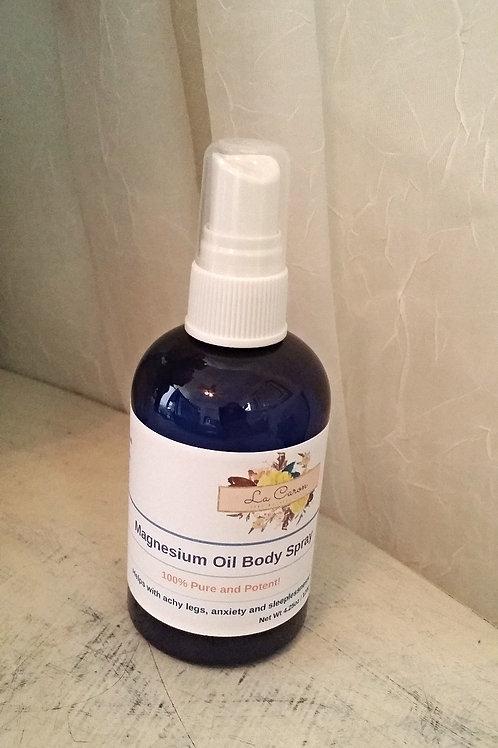 Magnesium Oil Body Spray 4oz