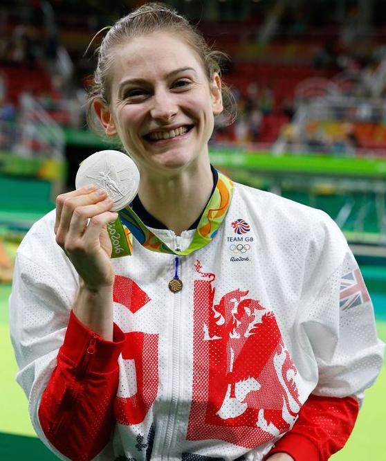 Bryony Page Rio Medal 1