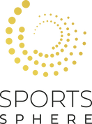 Sports-Sphere - Logo - Gold - Black Text