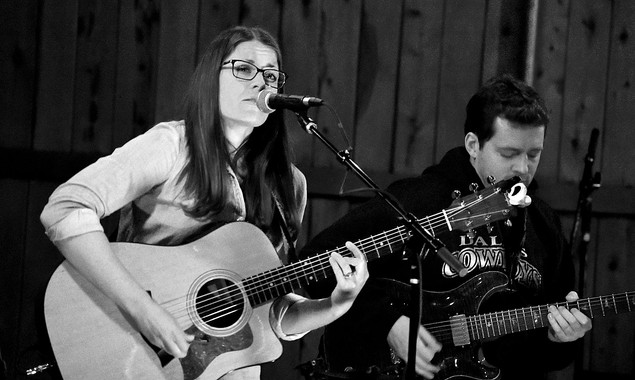 Katie Barrett playing The P-Court Patio - April 14, 2018