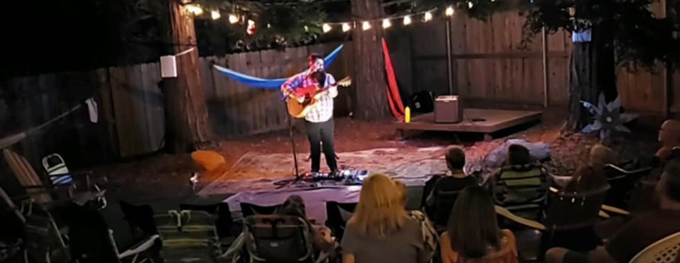 Jimbo Scott Playing The P-Court Patio