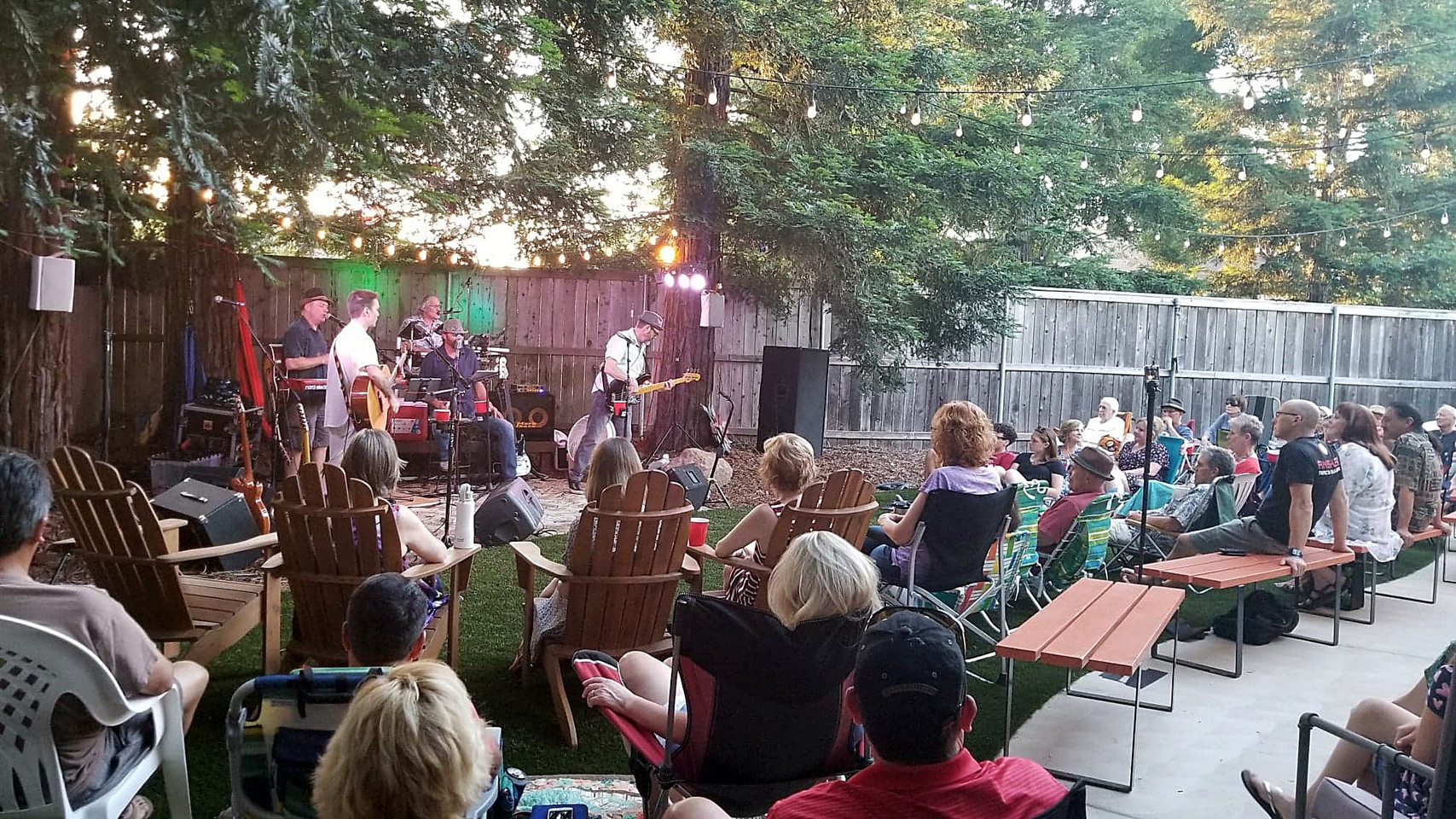 Defcats playing The P-Court Patio - June 2, 2018