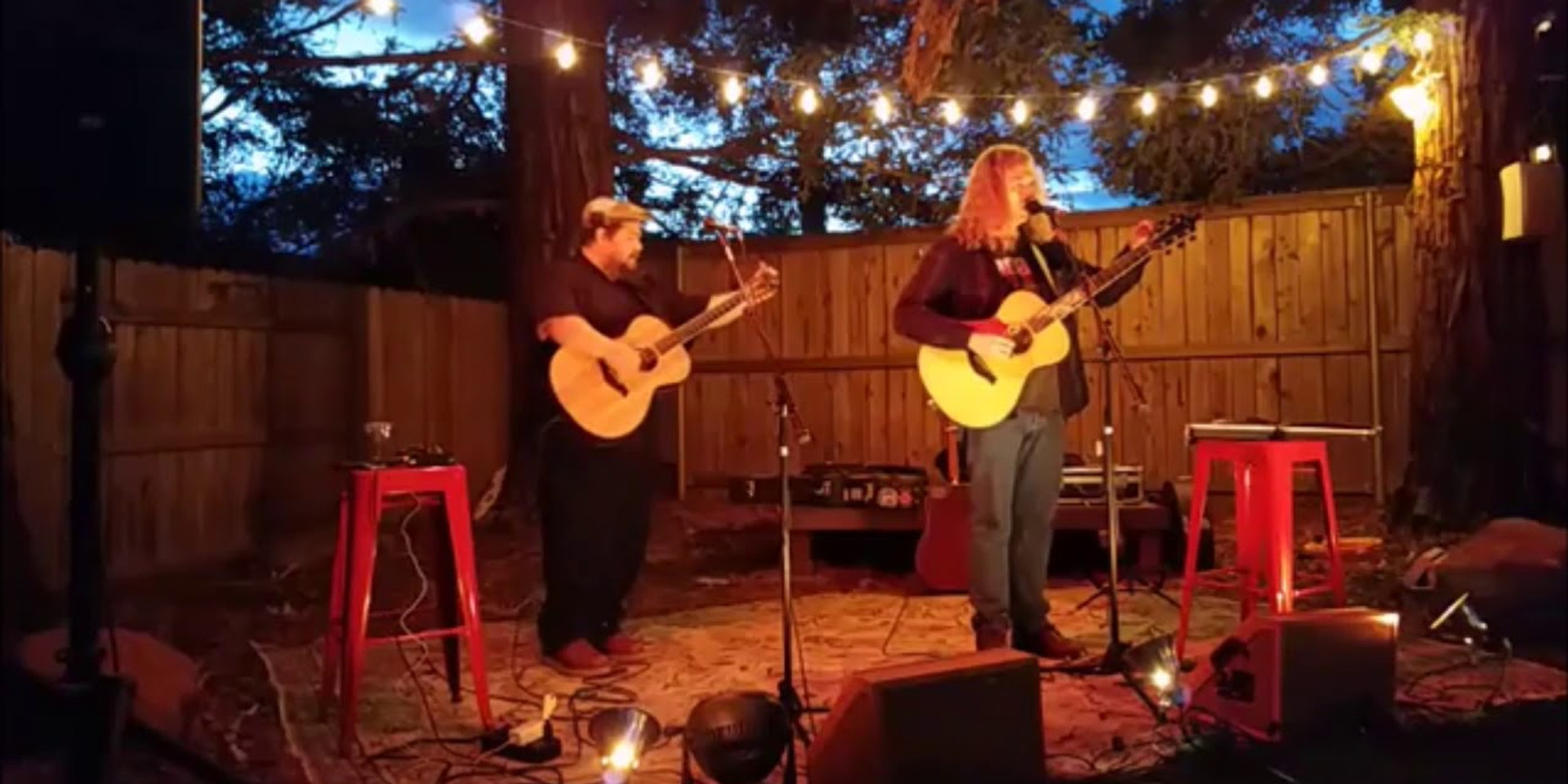Berkley Hart playing The P-Court Patio - April 27, 2018