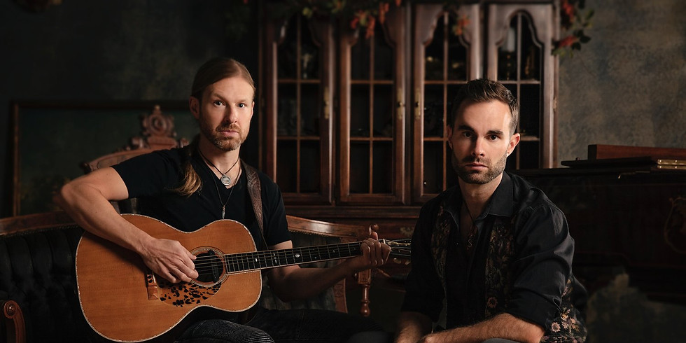 The Novelists Acoustic Duo - Eric Anderson & Joel Ackerson