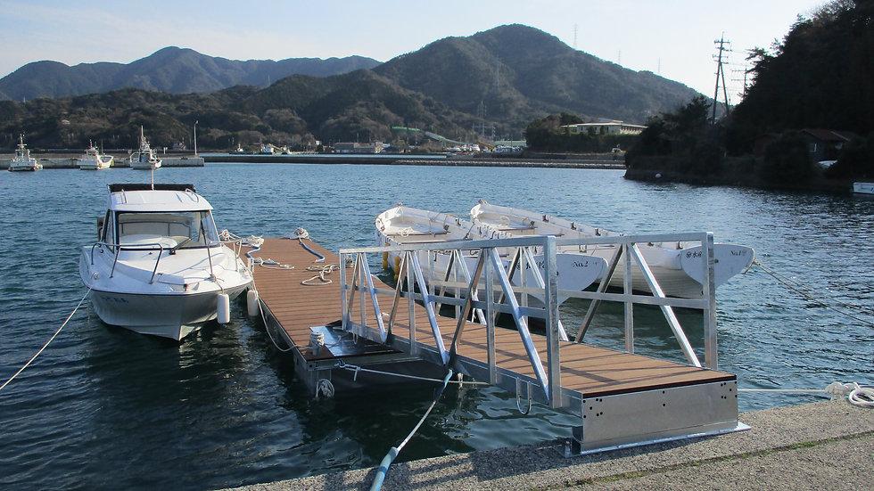 浮桟橋-ukisannbashi-