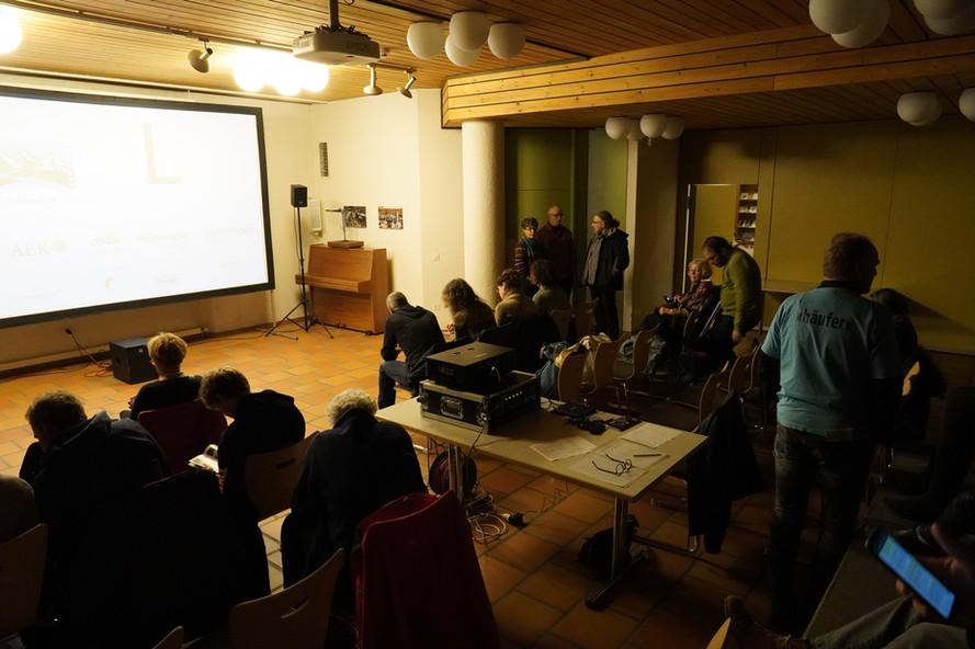 Kirchgemeindehaus Aaretaler Kurzfilmtage Münsingen