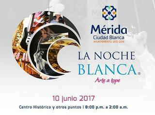 Noche Blanca, Las puertas de la Cultura abiertas en Mérida