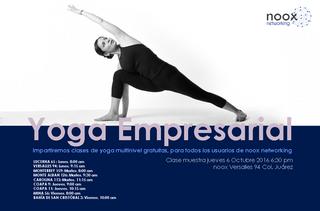 Yoga en el trabajo: Grandes beneficios con simples cambios