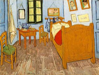 El cuadro del dormitorio de Vincent en Arles ya es una realidad