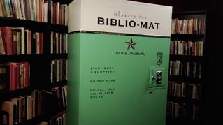 Biblio-Mat la nueva creación para incentivar la lectura.